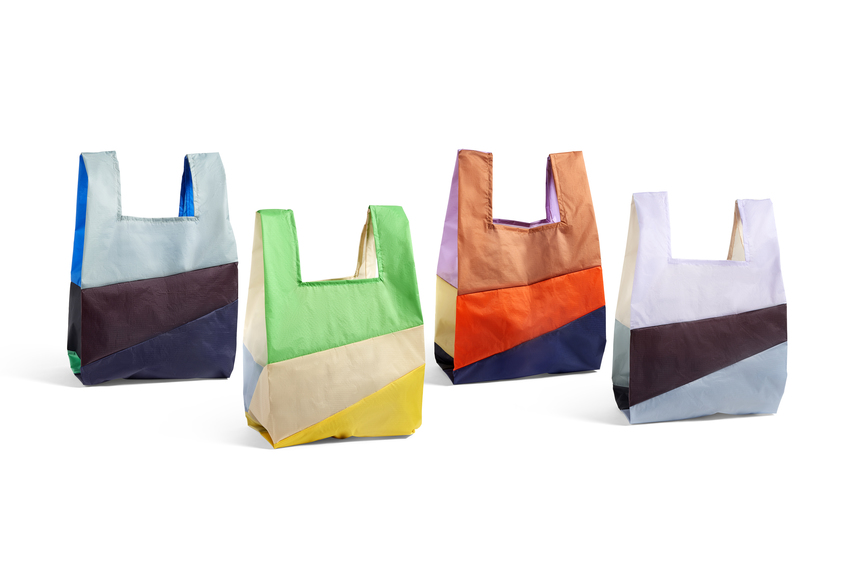 Six-colour bag L no. 1