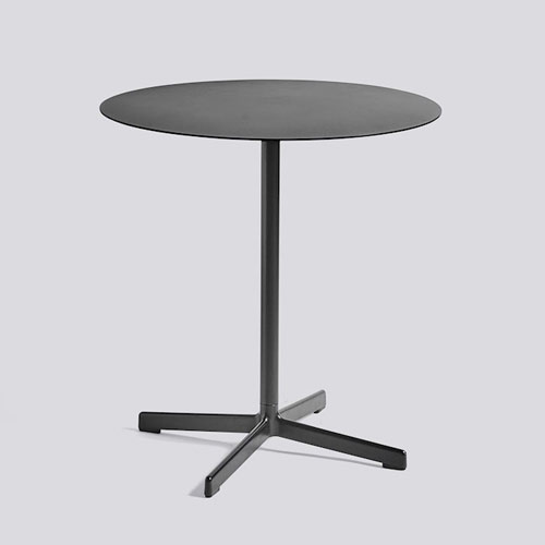 Neu Table Round Charcoal