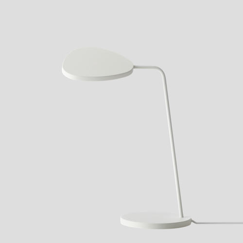 Leaf Table Lamp White