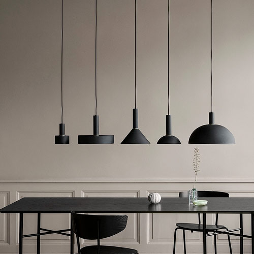 Ferm Living Dome Shade Black