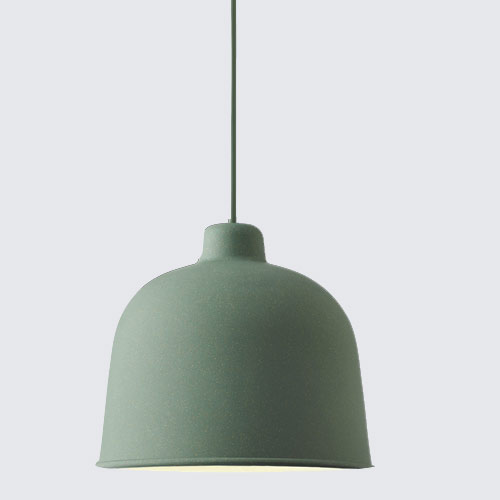 Muuto Grain Lamp Dustygreen