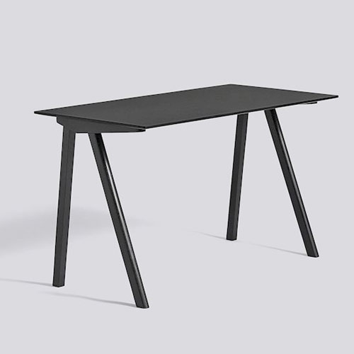CPH 90 Desk Black Stained Oak
