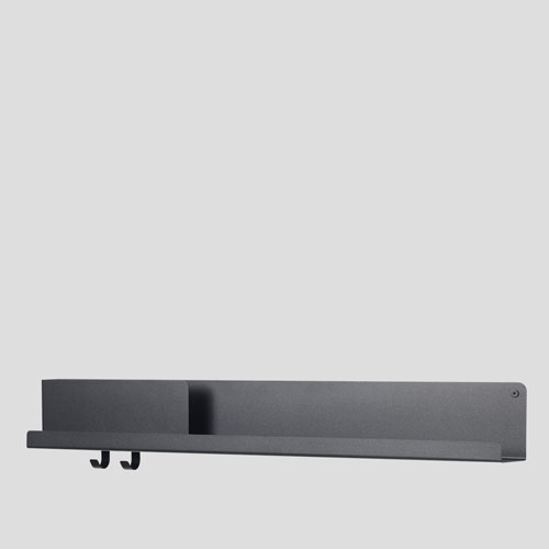 Muuto Folded Shelf Large Black 96cm