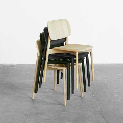 HAY Soft Edge 12 Chair Oak