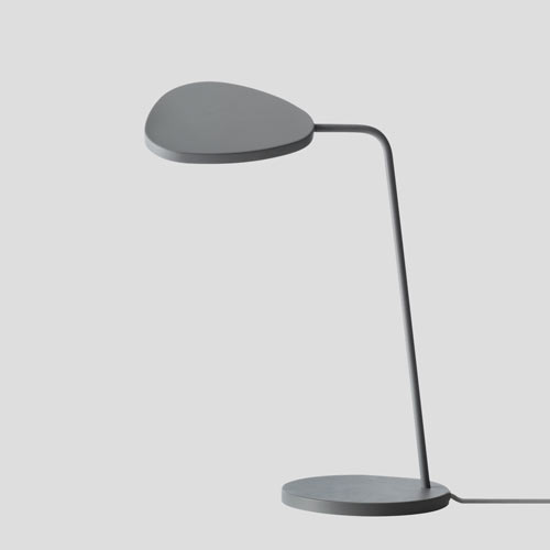 Leaf Table Lamp Grey