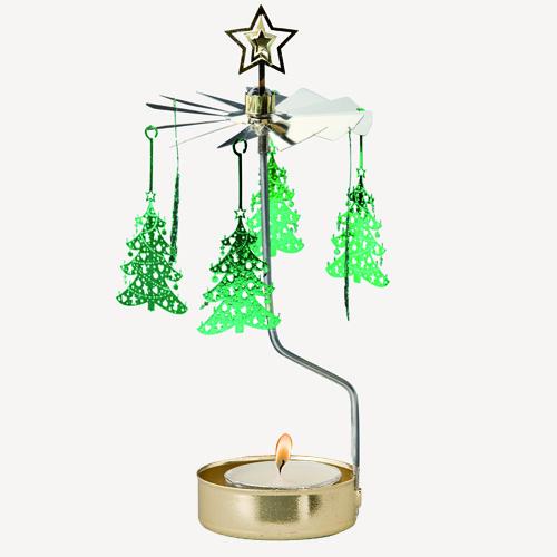 Änglaspel Waxinehouder Christmastree