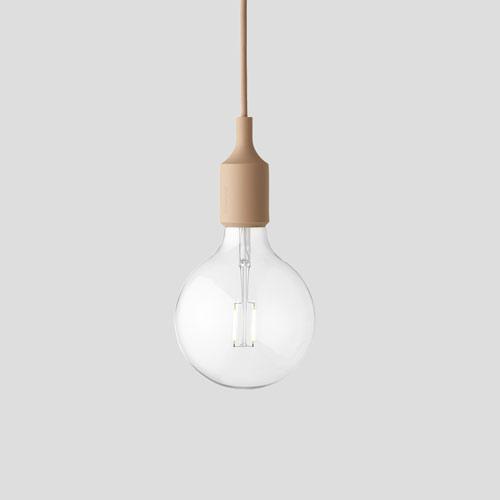 E27 Nude pedant lamp led