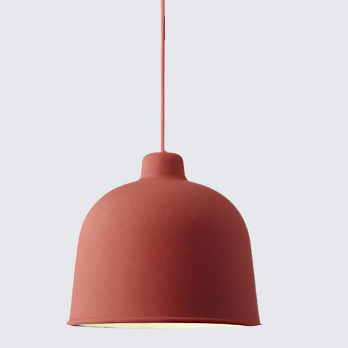 Muuto Grain Lamp Dusty Red
