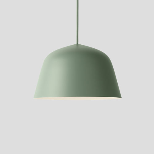 Muuto Ambit Lamp Dustygreen 25cm