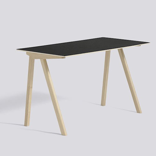 CPH 90 Desk Black Linoleum