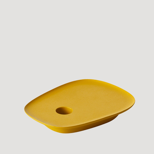 Float Candleholder Yellow