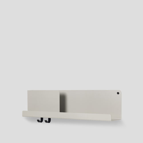 Muuto Folded Shelf Medium Grey 63cm