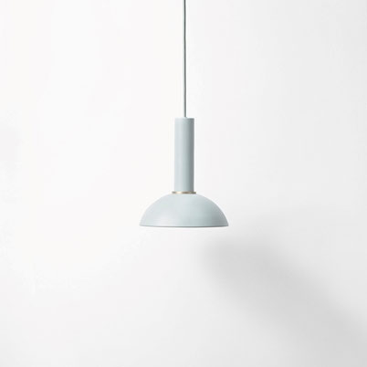 Ferm Living Hoop shade dustyblue