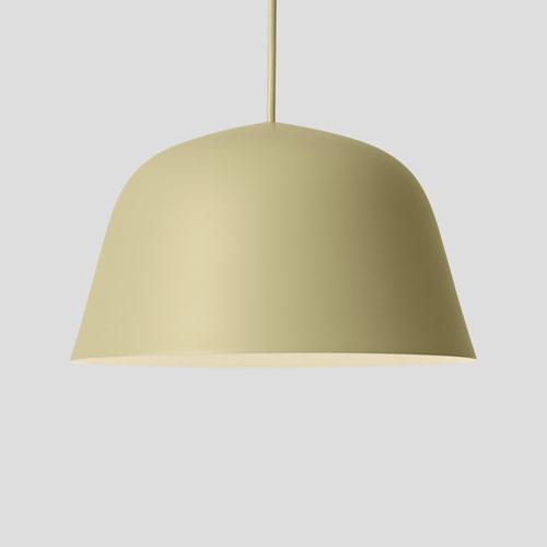 Muuto Ambit lamp beige green 40 cm