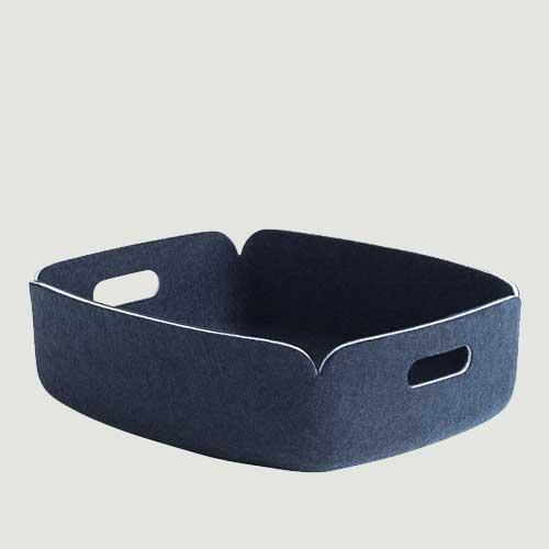 Restore tray midnight blue