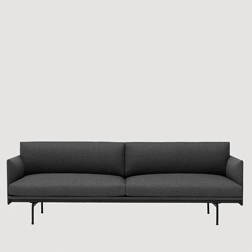 Muuto bank Outline Sofa 3 seater