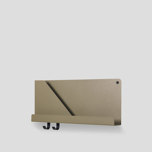 Muuto Folded Shelf Small Olive 51cm
