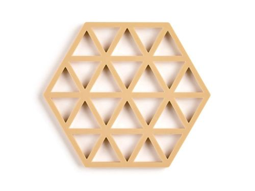 Trivet mustard triangles