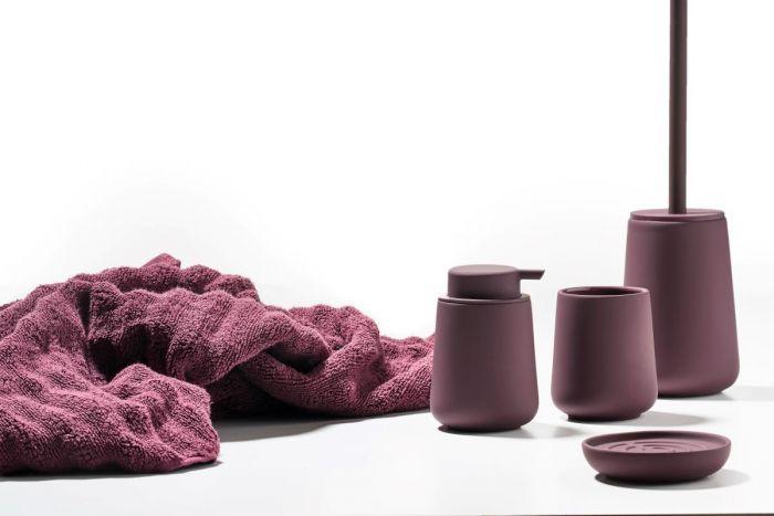 Soapdispenser velvet purple nova one