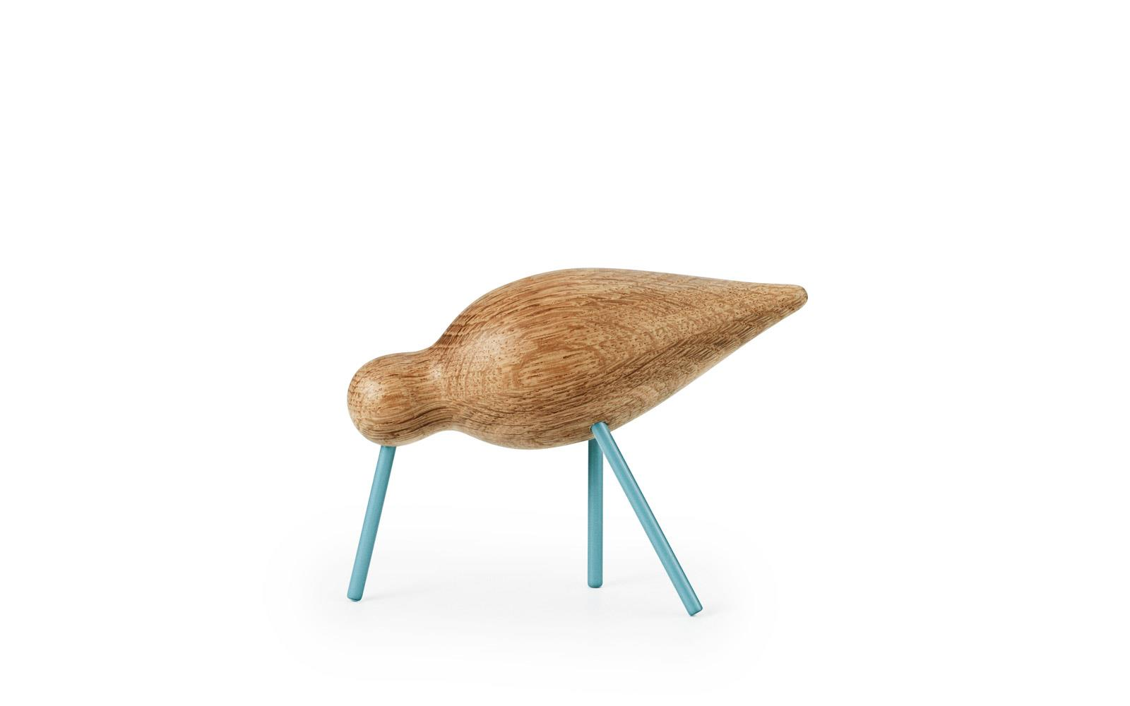 Shorebird medium Sea Blue/oak