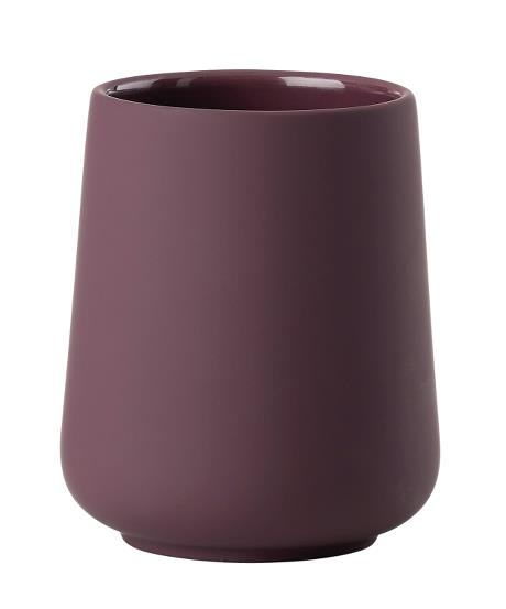 Toothbrush mug velvet purple nova one