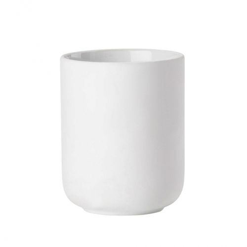 Toothbrush mug white ume