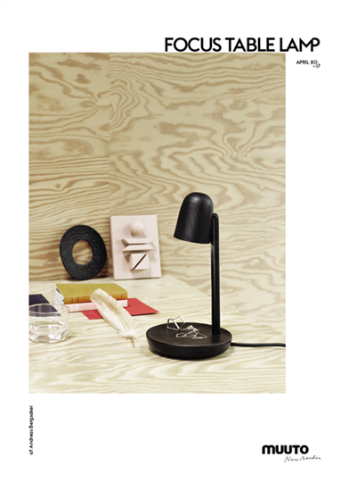 Muuto Focus Table Lamp Black