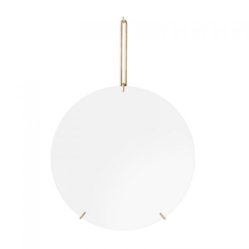Moebe wall mirror brass 30cm