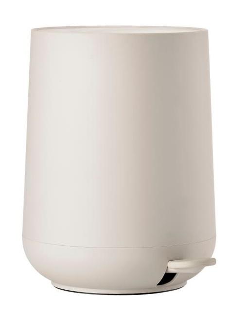 Pedal bin cream nova one 5 L
