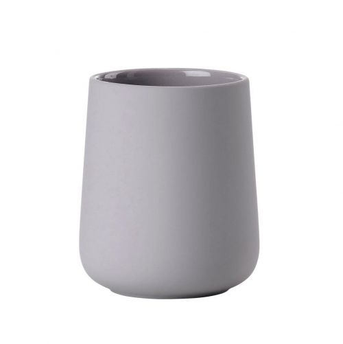 Toothbrush mug nova gull grey