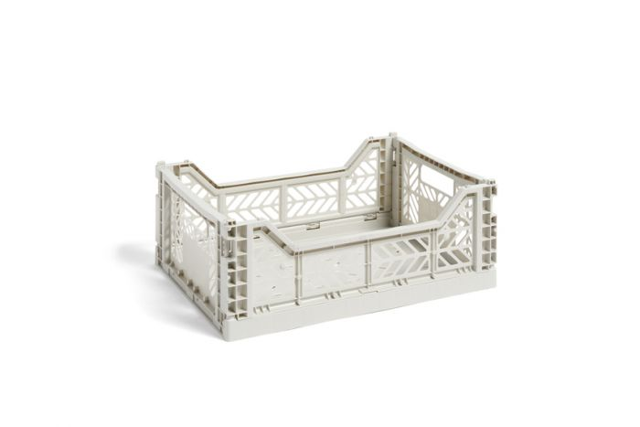 Hay Colour Crate M light grey