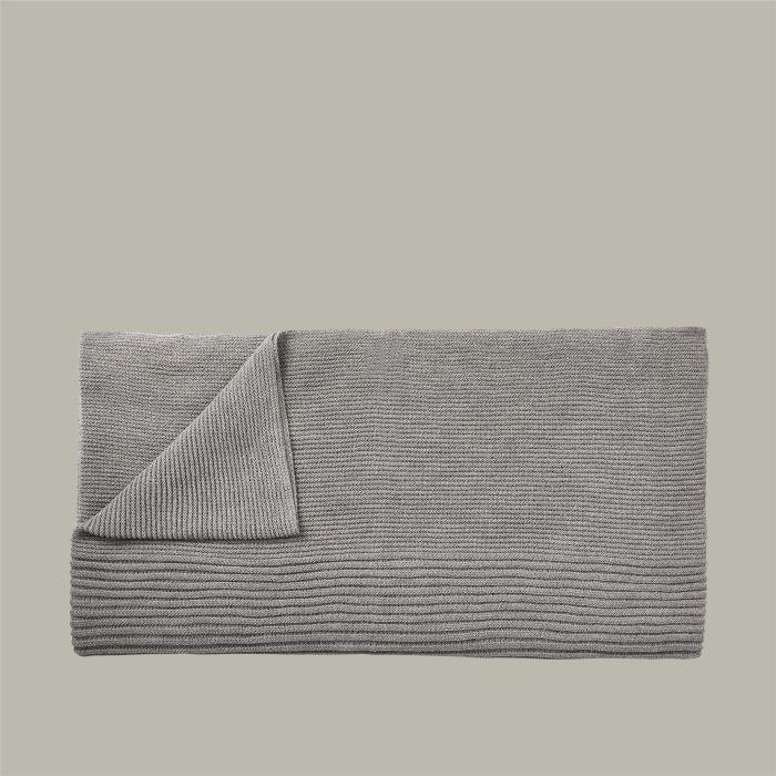 Muuto Rhythm Throw light grey 160x130