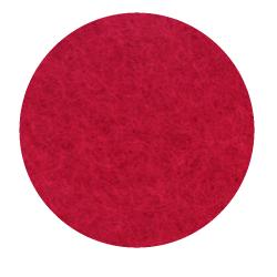 Onderzetter 20cm Poppy Red 55