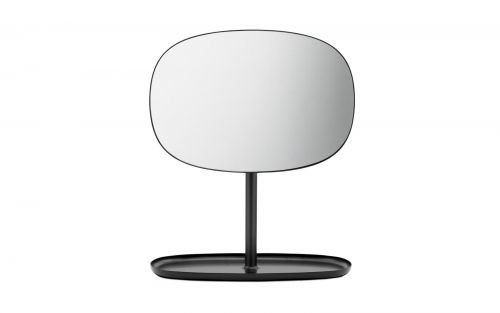 Normann Flip Mirror Black