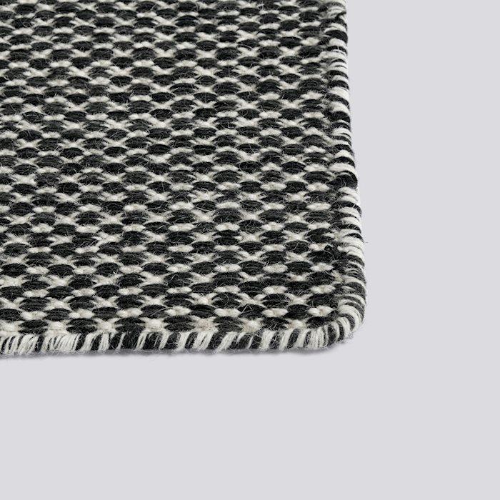 Moiré Kelim 140 x 200 Black