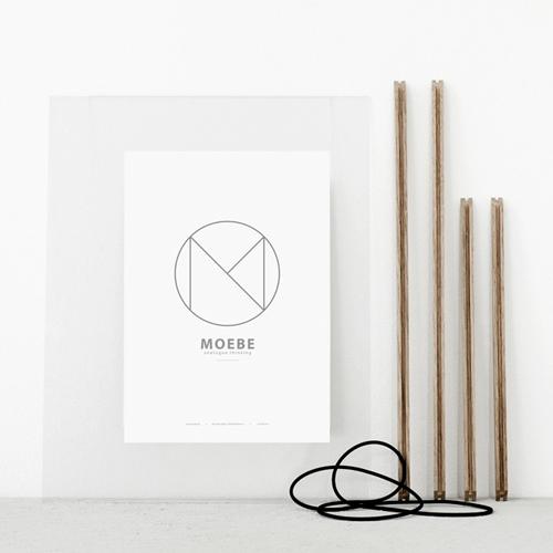 Moebe Frame A5 Oak