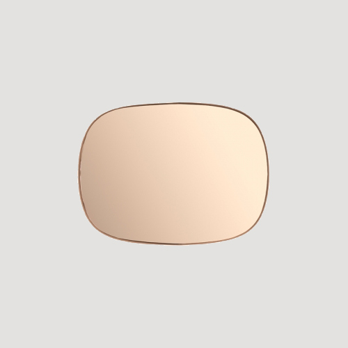 Muuto Framed mirror small - Spiegel Rose