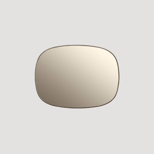 Muuto Framed mirror small - Spiegel Taupe