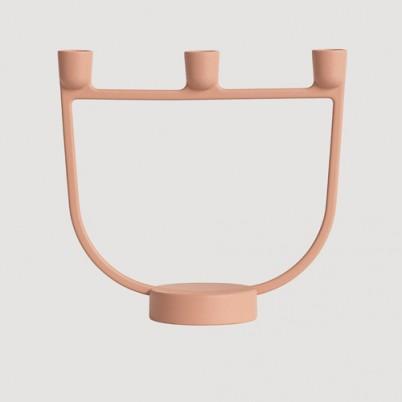 Muuto Open Candelabra Terracotta