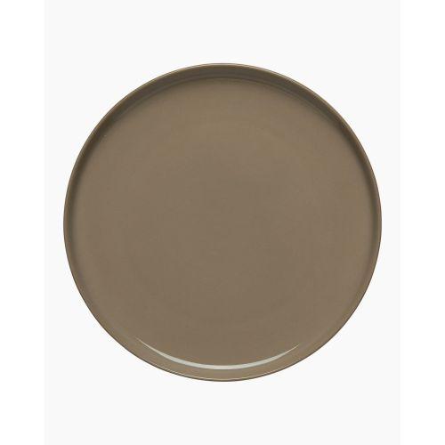 Oiva plate 20cm terra/black