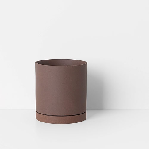Ferm Living Sekki Pot Rust Large
