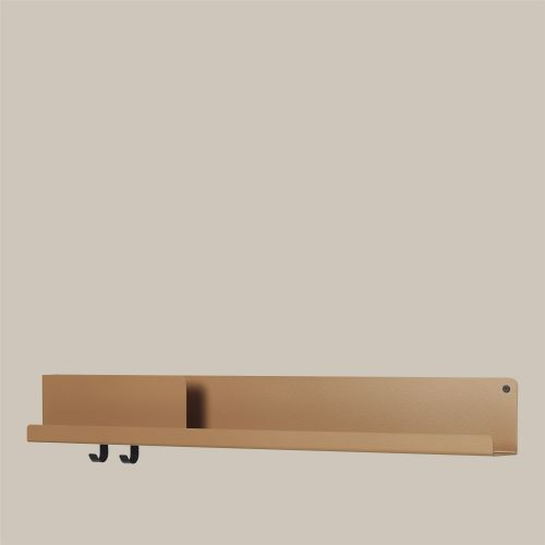 Muuto Folded Shelf Large burn orange 96cm