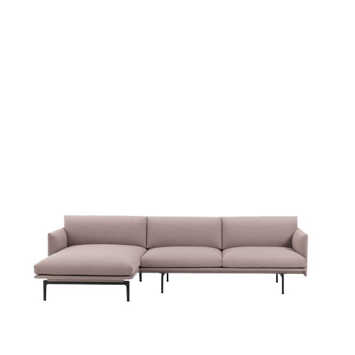 Muuto Outline Chaise lounge Left