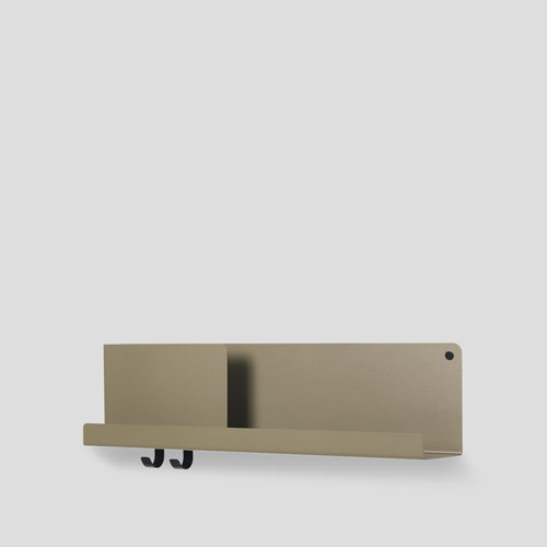 Muuto Folded Shelf Medium Olive 63cm