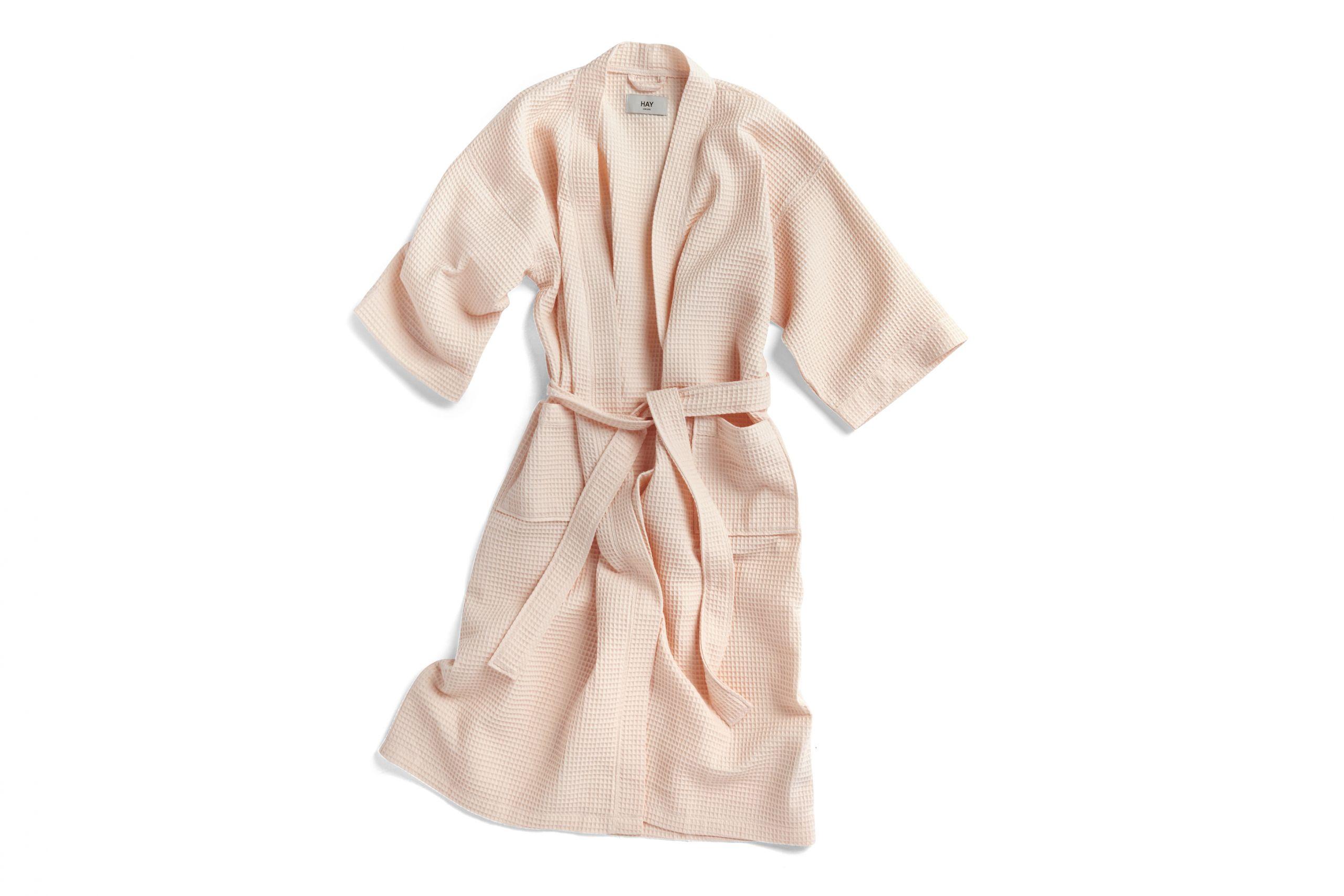 waffle bathrope one size nude