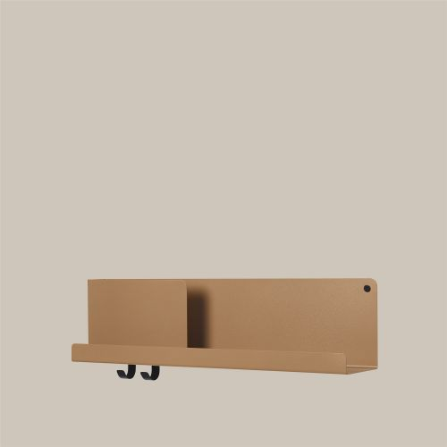 Muuto Folded Shelf Medium burnt orange 63cm