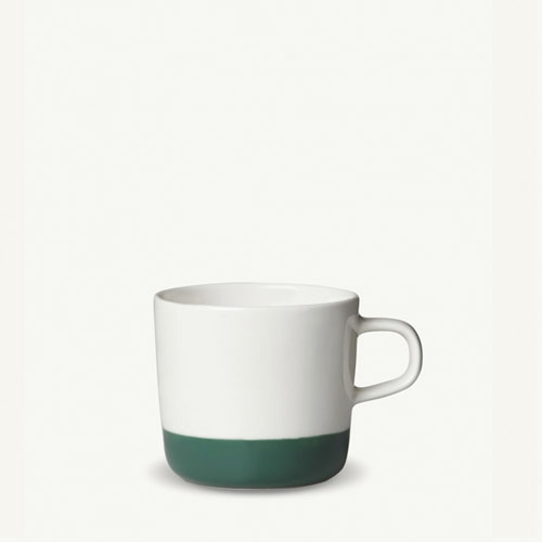 Marimekko Puolikas Coffee Cup 2dl white/green