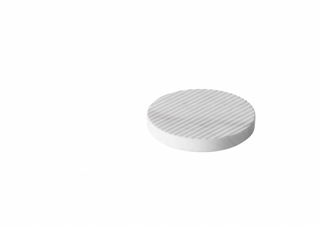 Groove Trivet White small