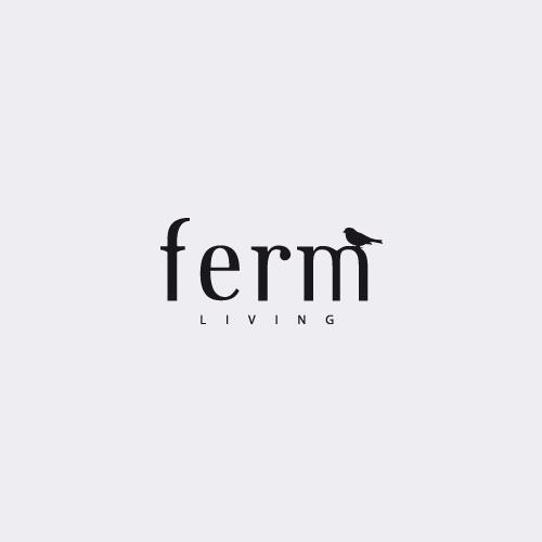 Ferm Living behang Confetti Off white