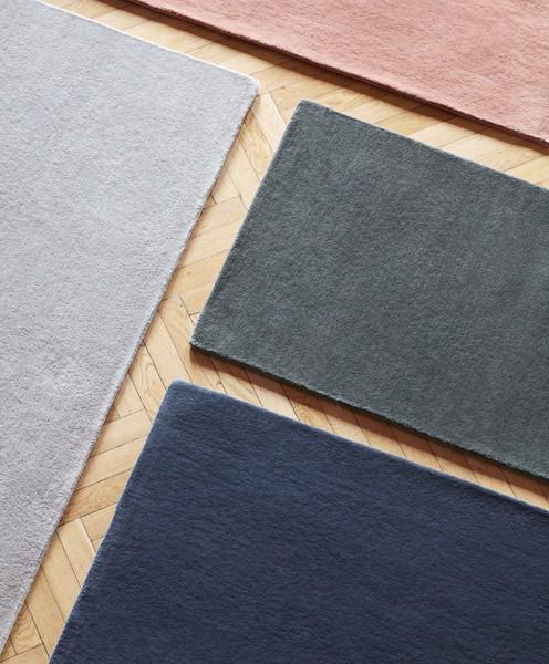 Raw Rug NO2 80 x 200 cm Dark grey